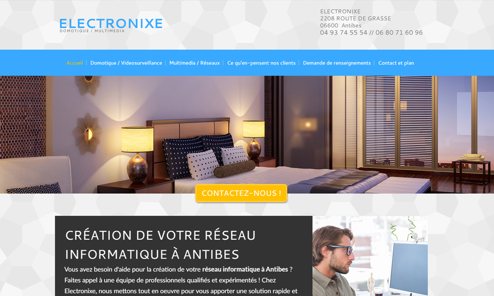 Site web du Ea Electronix