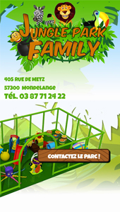 Jungle Park Family - Vue Mobile