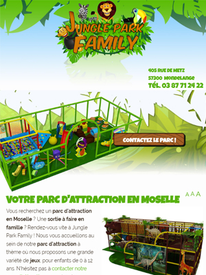 Jungle Park Family - Vue Tablette