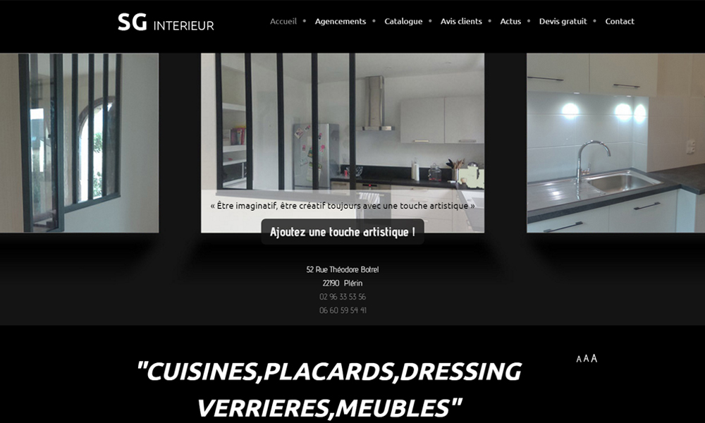 Site web du Sg Interieur