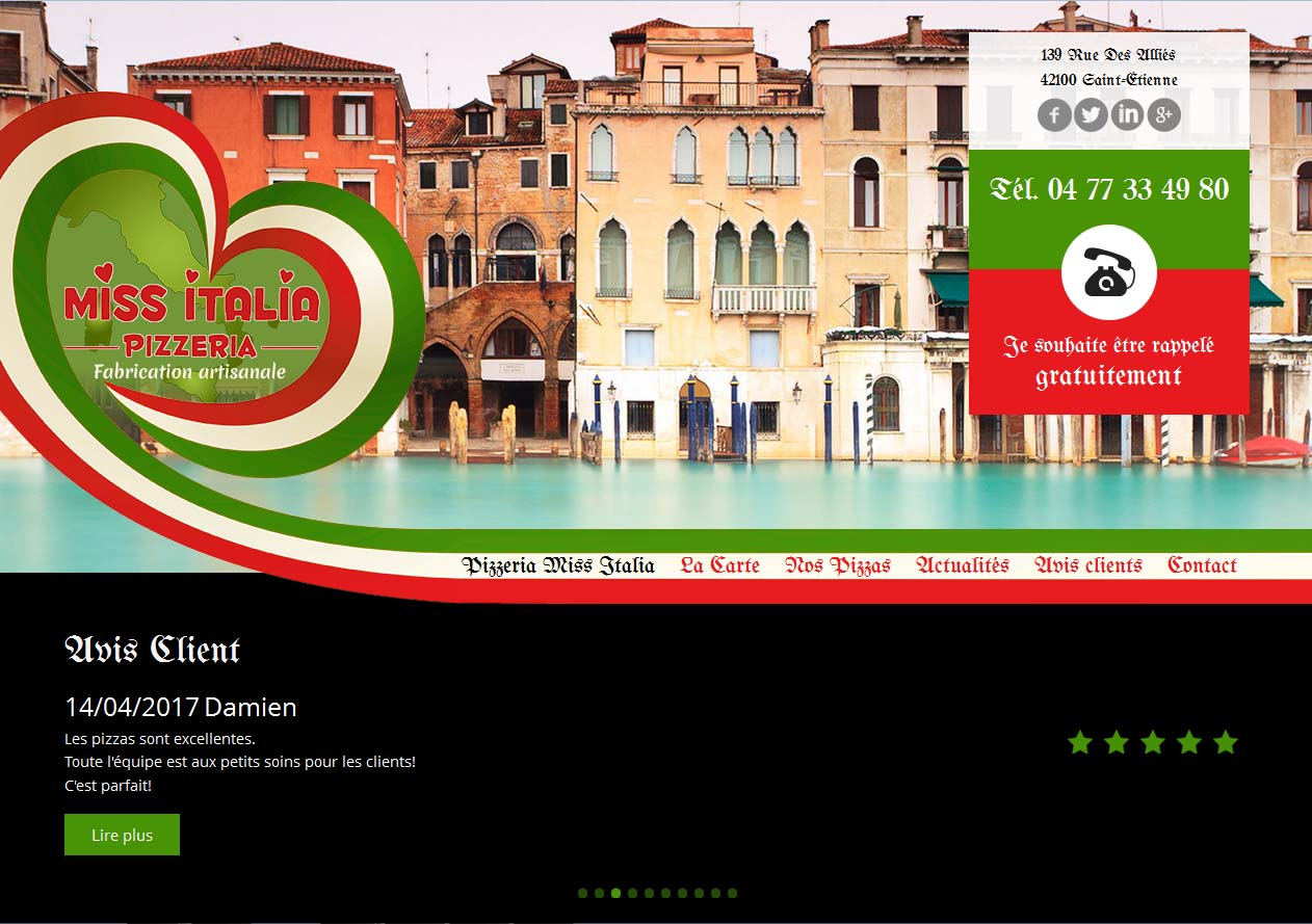 Site web du Miss Italia