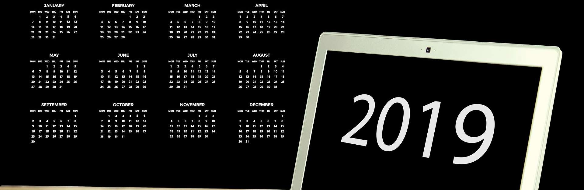 Calendrier Marketing 2019 : Les temps forts